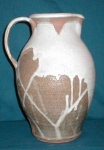 Click here to enlarge image and see more about item POCS292: Hand-Made Pottery Pitcher