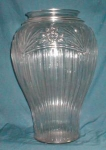 Click to view larger image of Achor Hocking  Large Clear Glass Vase (Image1)