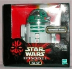 Click here to enlarge image and see more about item POCS353: Hasbro Metalized Dome R2-A6