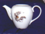 Click here to enlarge image and see more about item POCS39: MEIKO CHINA TEAPOT