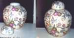 Click here to enlarge image and see more about item POCS41: PLUM DESIGNER VASE