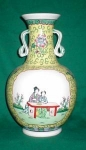 Click to view larger image of Ceramic Oriental Vase (Image1)