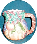 Click to view larger image of Dalton Fruit/Vegetable Embossed Pitcher (Image1)