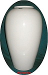Click here to enlarge image and see more about item POCS604: 18 1/2 Inch Haeger Vase