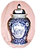 Click to view larger image of Huge Blue & White Ginger Jar (Image2)
