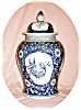 Click to view larger image of Huge Blue & White Ginger Jar (Image3)