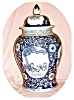 Click to view larger image of Huge Blue & White Ginger Jar (Image4)