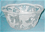 Click here to enlarge image and see more about item POCS843: Frosted Morning Glory Bowl