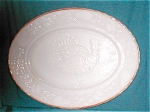 Anchor Hocking White Glass Platter