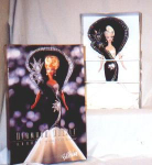 Click here to enlarge image and see more about item POCS95: Diamond Dazzle Barbie Bob Mackie