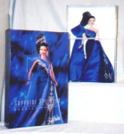 Click here to enlarge image and see more about item POCS96: Sapphire Splendor Barbie