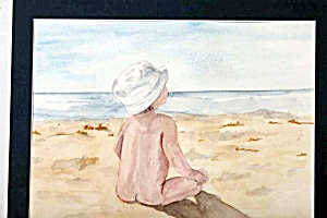 Baby at the Beach (Image1)