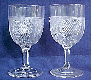 Princess Feather Goblets - Pair