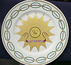 Haviland Martha Washington Plate (Image1)