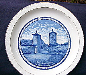 Old City Gate St. Augustine Plate (Image1)