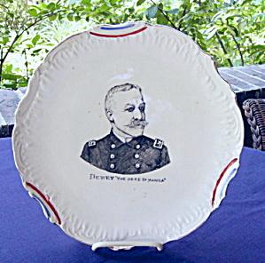 Admiral Dewey Commemorative Plate   (Image1)