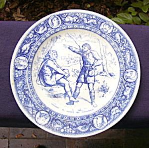 Wedgwood Ivanhoe Series Plate     (Image1)