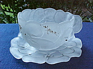 Columbian Expo Libbey flower cup and saucer (Image1)