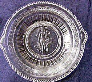 Cupid And Venus Bread Plate