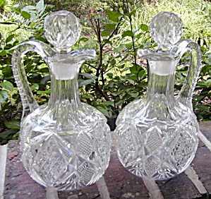 Pennsylvania Handled Decanters (pair) (Image1)