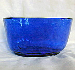 Flint Cobalt Blue Bowl (Image1)