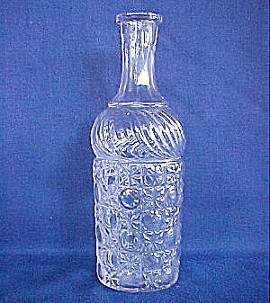 Currier And Ives Decanter