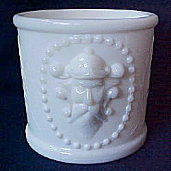 Milk Glass Viking mustache cup (Image1)