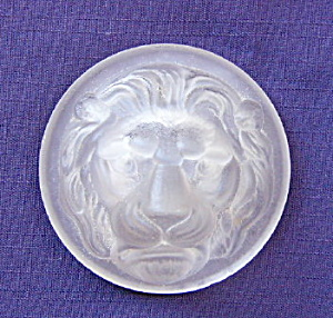 Lion Head Glass Novelty
