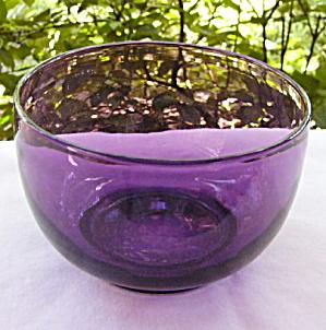Amethyst Flint Waste / Finger Bowl (Image1)