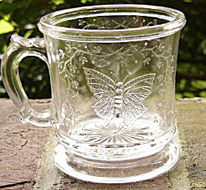 Butterfly With Spray Mug