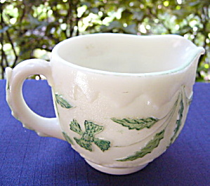 Delaware Opaque Ivory Creamer