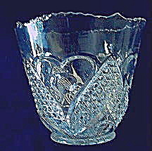 Heart With Thumbprint Ice Bucket
