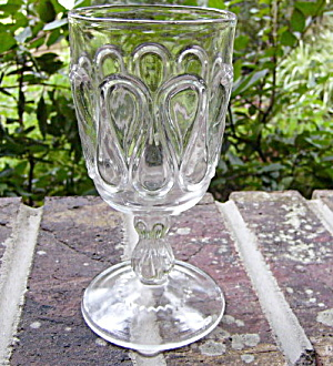 Ribbon Candy Goblet
