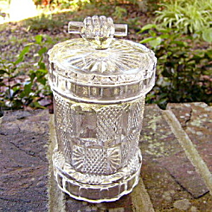 Hand Pattern Jam Jar / Marmalade (Image1)