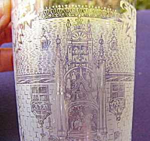 Etched Glass Tumbler  Palais Ducal Nancy (Image1)