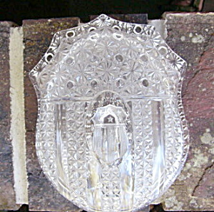 Banner or Three Shields Butter Dish (Image1)