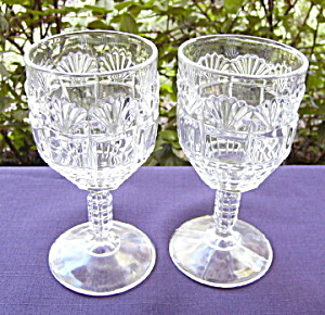 Block and Fan Goblets (2) (Image1)