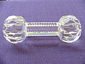 Cut Glass Knife Rest