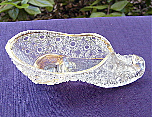 Antique Daisy and Button Gold Flashed Shoe (Image1)