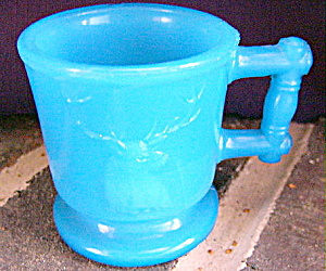 Deer and Cow Toy Mug Opaque Blue (Image1)