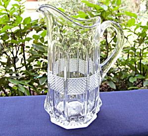 Virginia/Banded Portland Water Pitcher (Image1)