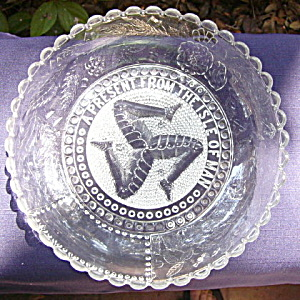 Isle of Man Triskelion Bowl	 (Image1)