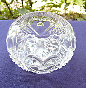 Heart with Thumbprint Small Rose Bowl (Image1)