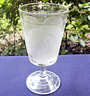 Clear Flamingo Goblet (Image1)