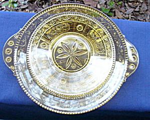 Willow Oak Amber Plates (2) (Image1)