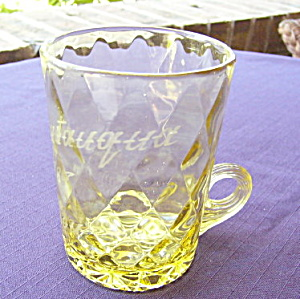 Diamond Quilted Amber Mug	 (Image1)