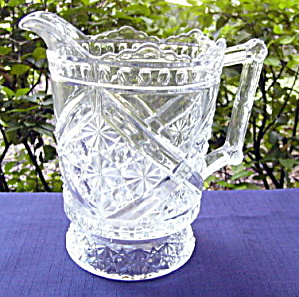 Daisy and Button with Crossbars Water Pitcher (Image1)