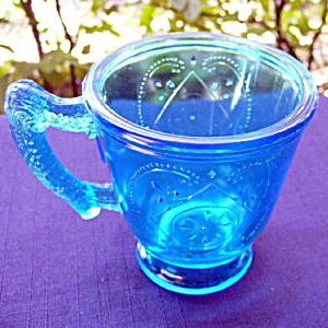 Diamond with Circle Mug, Blue (Image1)