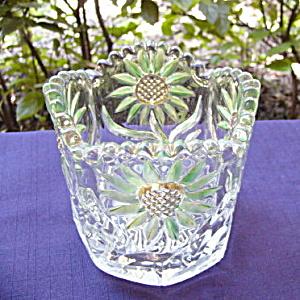 Intaglio Sunflower Spooner (Image1)