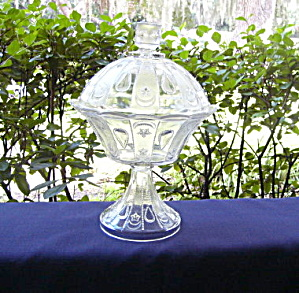 Shrine Covered Compote